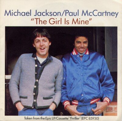 Michael Jackson and Paul McCartney - The Girl Is Mine